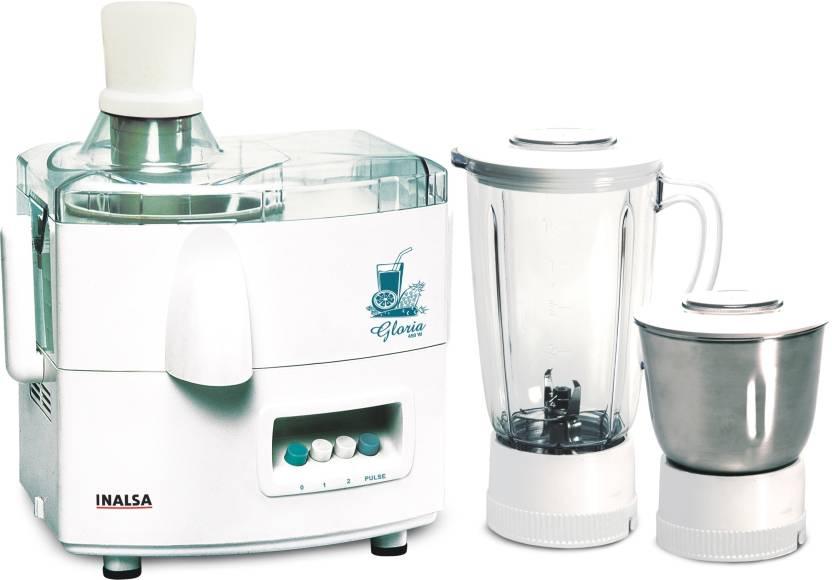Inalsa Gloria 450 W Mixer Grinder