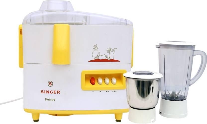 Singer Peppy DX 500 W Juicer Mixer Grinder
