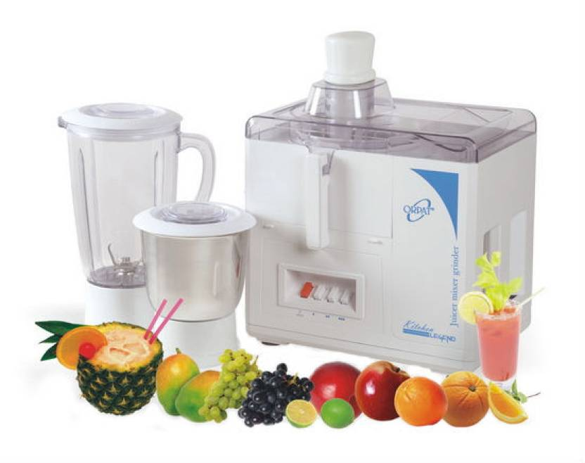 Orpat Kitchen Legend 500 W Juicer Mixer Grinder