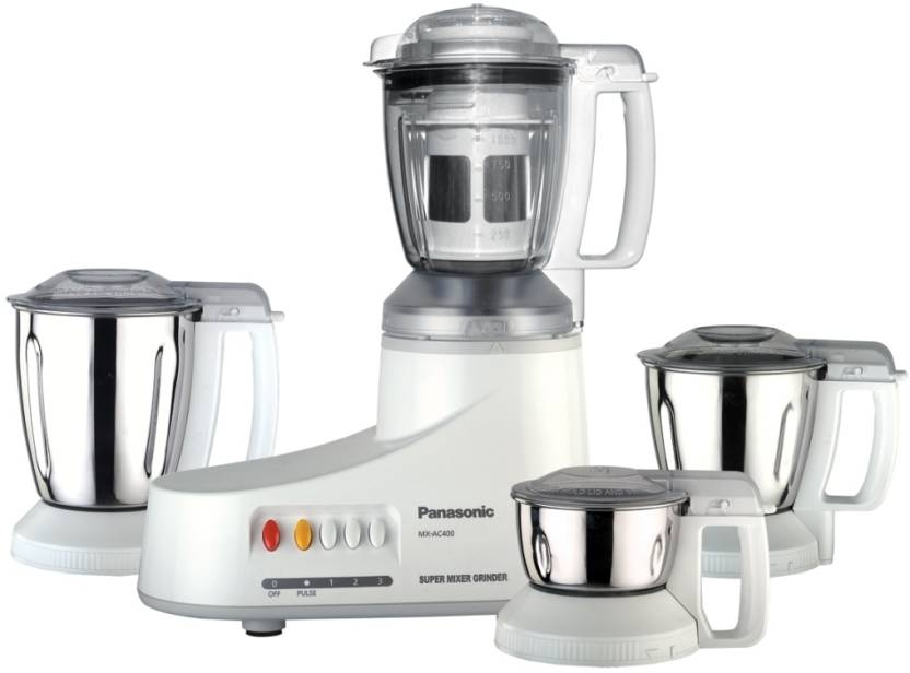 Panasonic Mx Ac 400 550 W Mixer Grinder Price In India