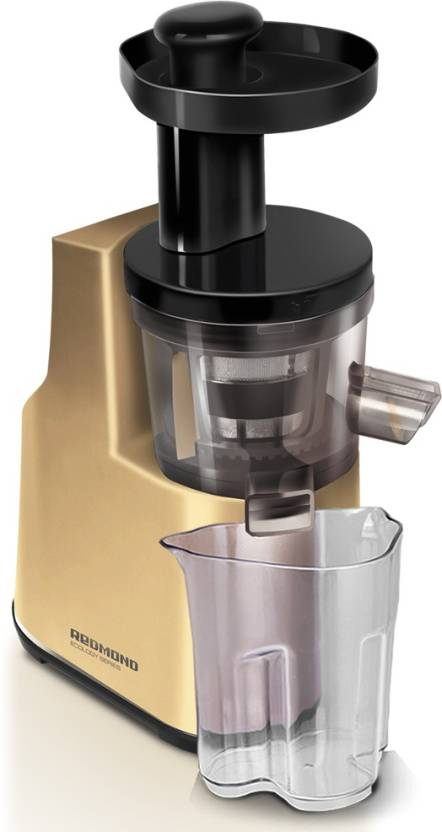Redmond Slow | Cold-pressing system squeezes fresh juice 200 W Juicer