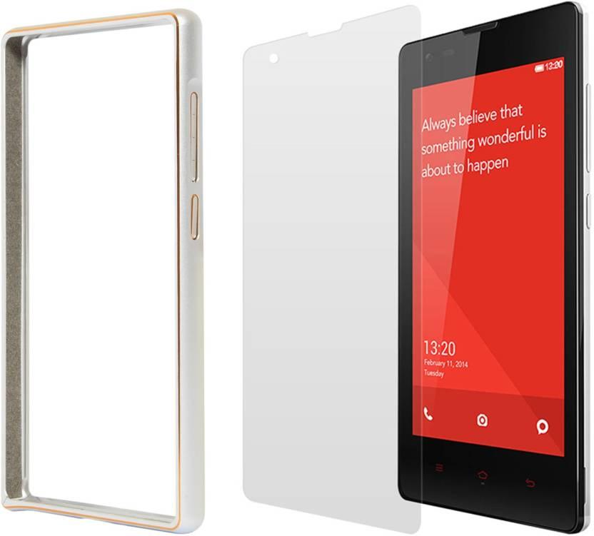 DMG Luxurious Aluminium Metal Bumper Case For Xiaomi Redmi 1S and