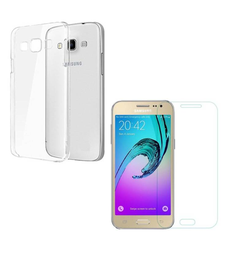 premium selection 78b5f fd91d Softdesign Cover Accessory Combo for SAMSUNG Galaxy J2-6 (New 2016 ...