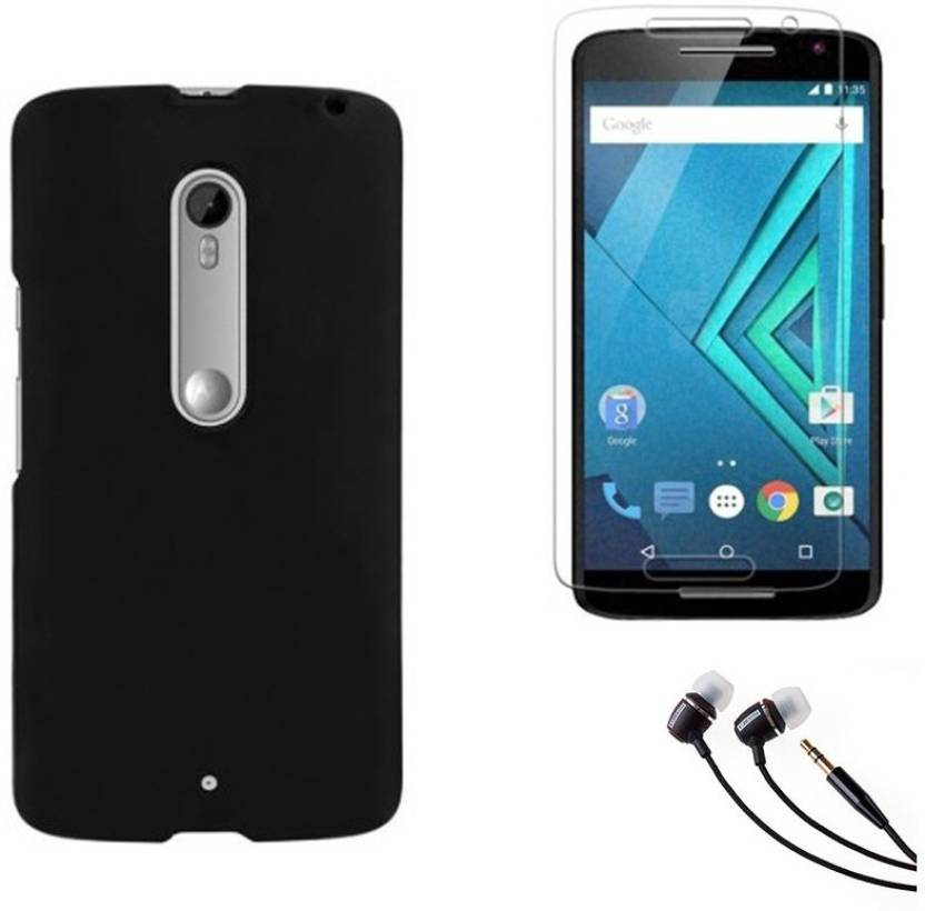 competitive price ad07d afe8f Mocell Hard Back Cover For Motorola Moto X Play With Ultra Clear ...