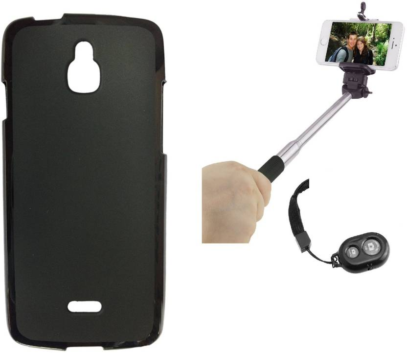 the latest 6bcde f4518 iCopertina Infocus M2 Back Cover and tooth Selfie Stick Accessory ...