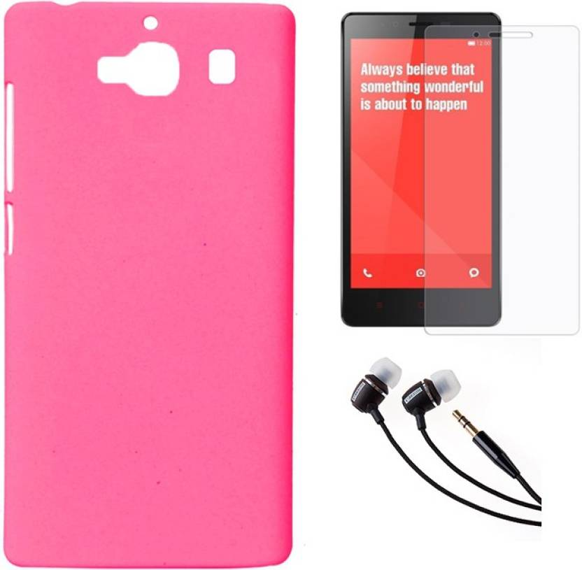 new style a5b0b 0b272 Mocell Hard Back Cover For Xiaomi Redmi 2 Prime With Ultra Clear ...