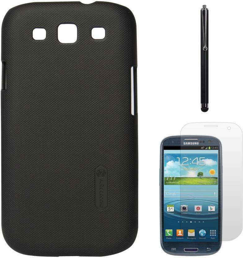 innovative design 5480f 6d41e Nillkin Back Cover Case For Samsung Galaxy S3 Neo i9301 (Black) + ...
