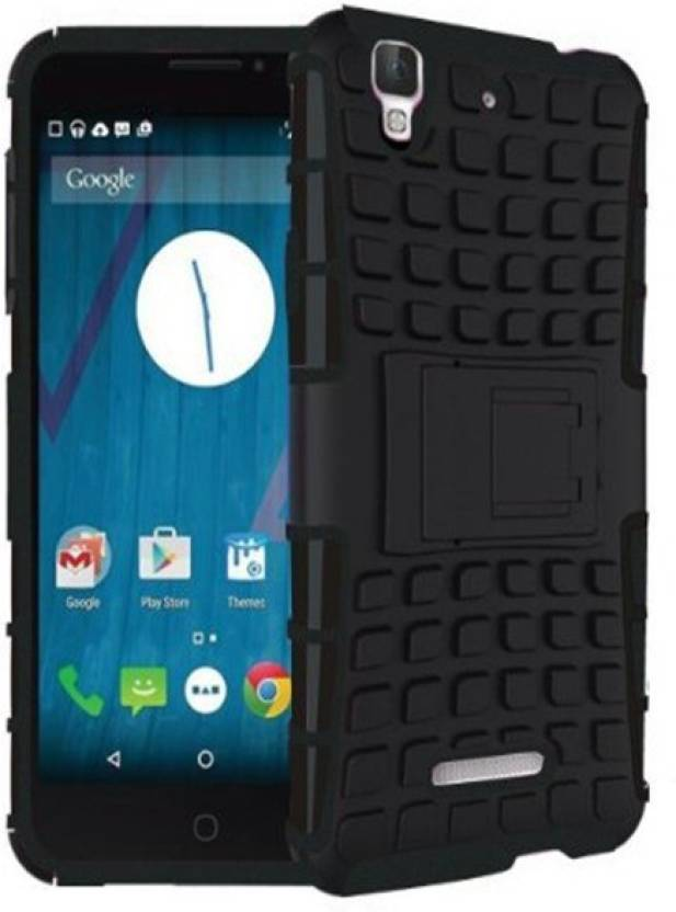 Tidel Grip Back Cover for Micromax Yu Yureka Plus