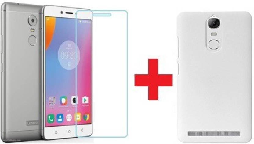 Ridhaniyaa Cover Accessory Combo for Lenovo K6 Power White