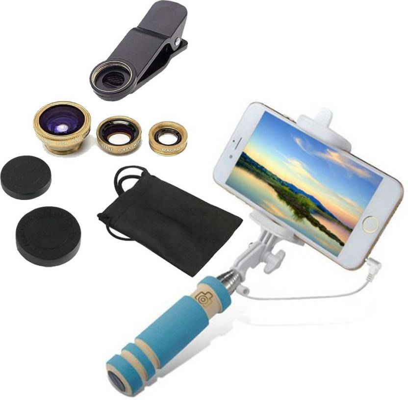YND Mobile Phone Lens Accessory Combo For Xolo A600