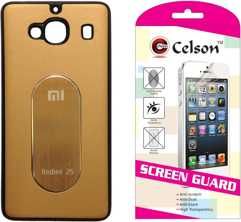 outlet store b3302 38dfe Celson Xiaomi Redmi 2 Prime Back Cover & Screen Guard Accessory ...