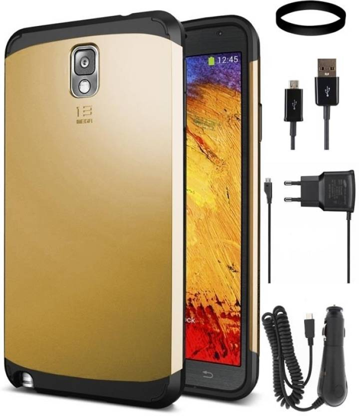 newest collection ebe53 cf694 DMG Slim Armor Case for Samsung Galaxy Note 3 with Car Charger and ...