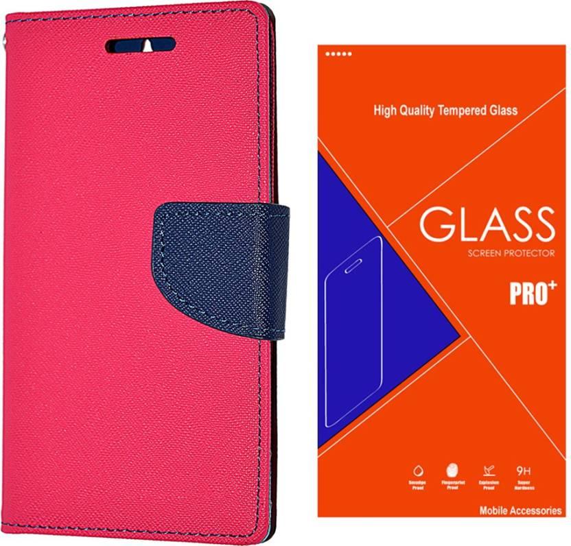the best attitude 055a4 8b71d Goospery Premium Flip Cover For Samsung Galaxy Mega 5.8 (Murc-Pink ...