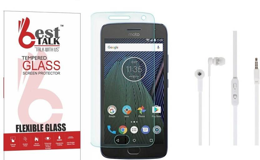 8e8124d02181 BESTTALK Screen Protector Accessory Combo for Motorola Moto G5 Plus (Clear)