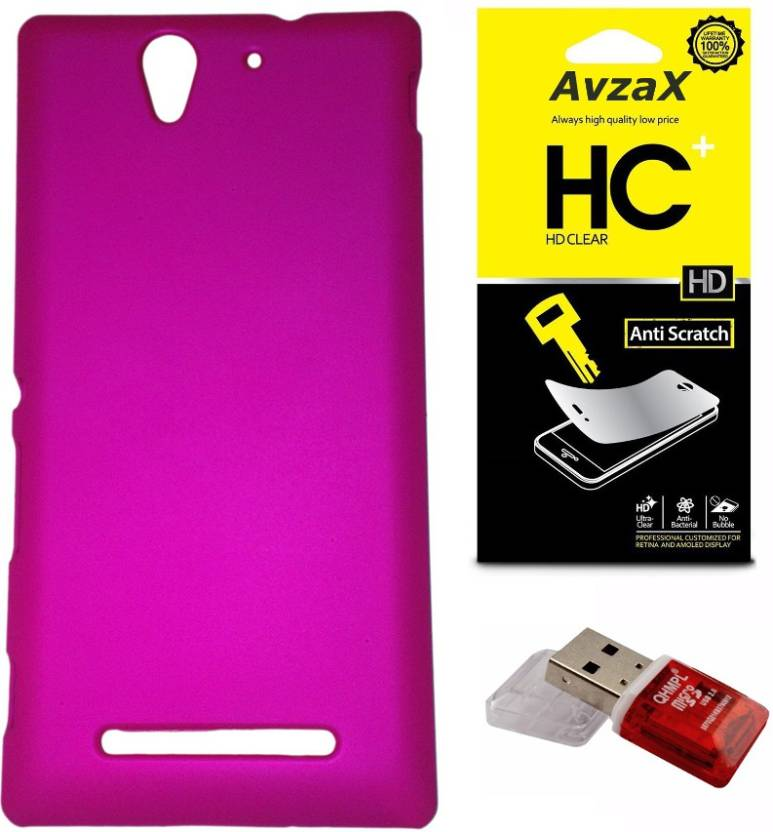 buy online 52235 93497 Avzax Cover Accessory Combo for Sony Xperia L Price in India - Buy ...