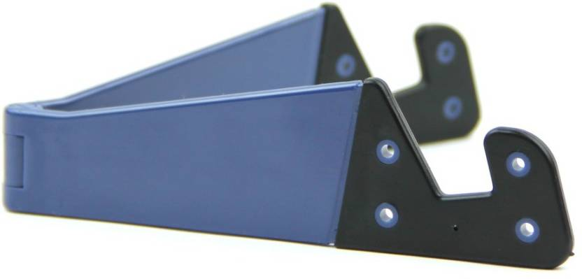 Domo nHance T22 Universal Adjustable Portable Stand for Smart Phones and Tablet PC - Blue Mobile Holder