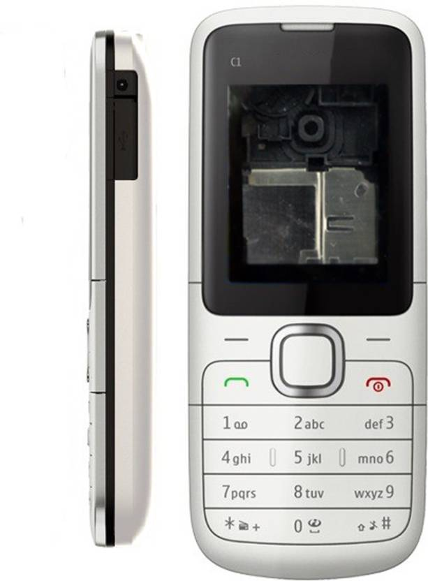newest 92ce4 617a0 Totta Back Replacement Cover for Nokia C1 - Totta : Flipkart.com