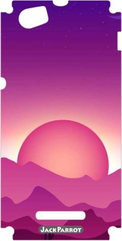 Jack Parrot Ztv Sticker 00217 Sony Xperia M Mobile Skin Price in