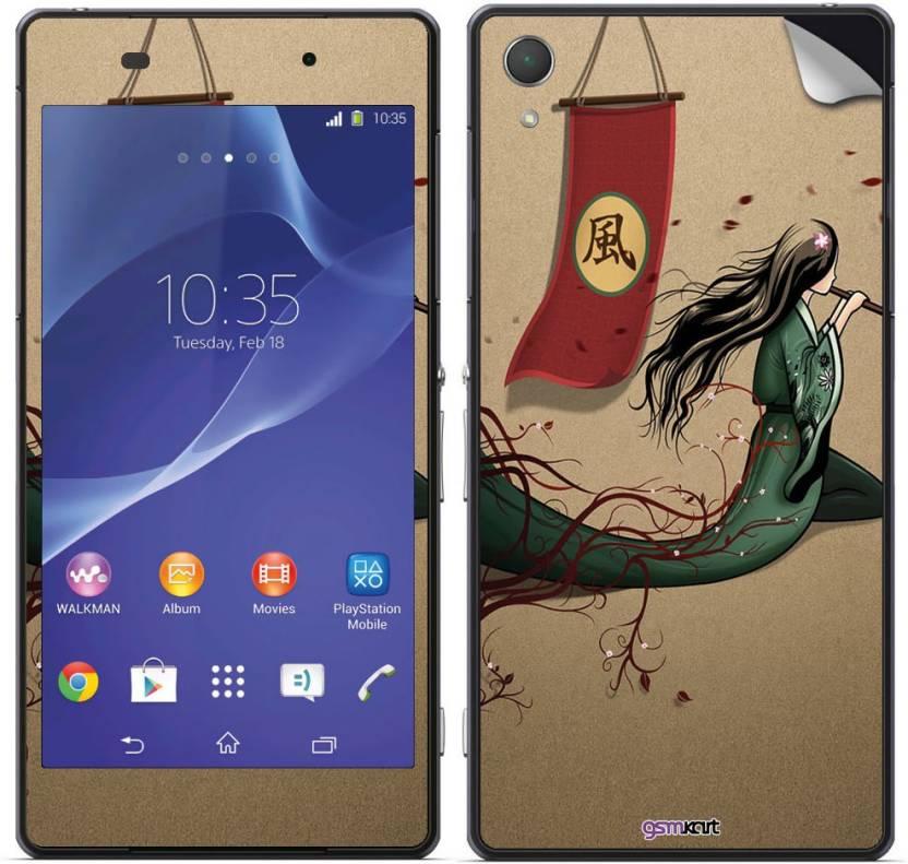 Gsmkart SXZ2 - Fly Girl Sony Xperia Z2 Mobile Skin Price in