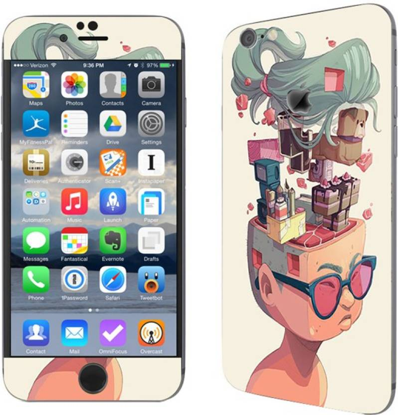 Theskinmantra Women Geek Apple iPhone 7 Mobile Skin Price in India ... cb0f00d97