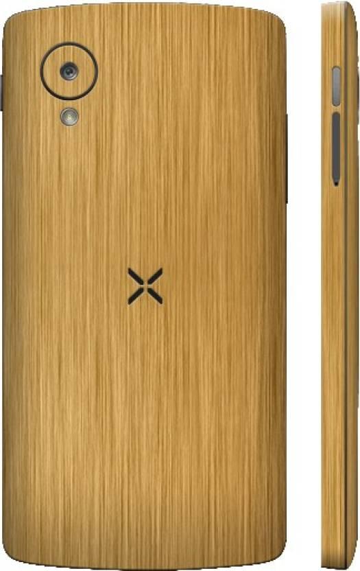 Dbrand xnexus5goldmetalback LG Google Nexus 5 Mobile Skin