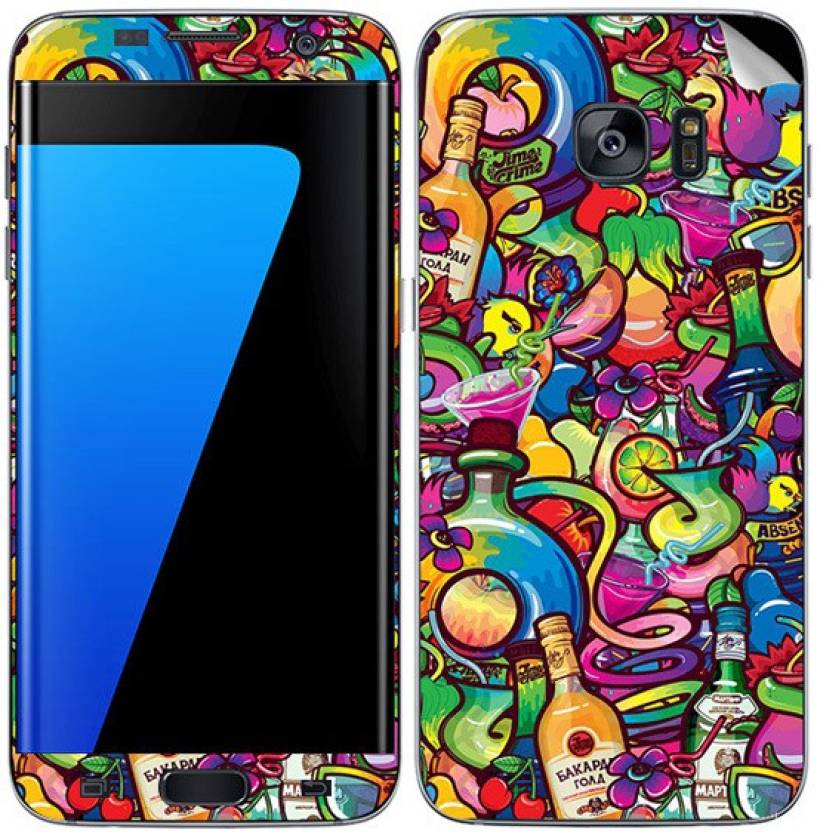 Theskinmantra Fruit beer Samsung Galaxy S7 Mobile Skin Price in