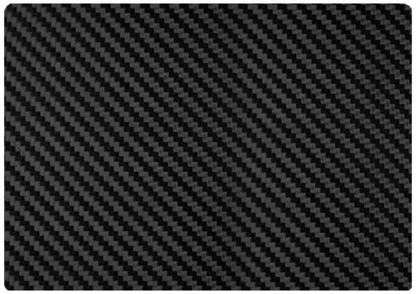 SKIN4GADGETS Black Carbon Fiber Texture Laptop Skin for
