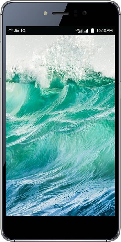LYF Water 8 (Black, 16 GB)