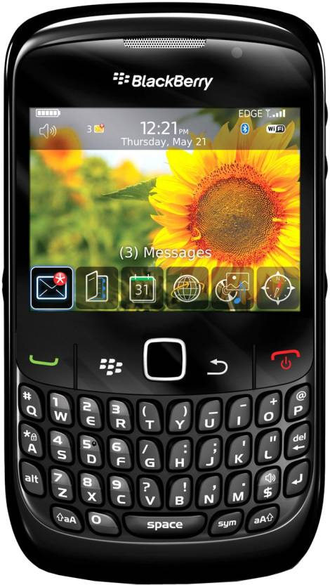 Blackberry Curve 8520 (Black, 256 MB)