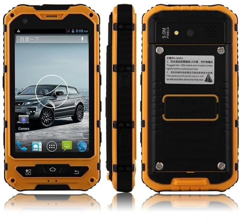 Xelectron A8 Rugged Smart Phone Orange 2 Gb
