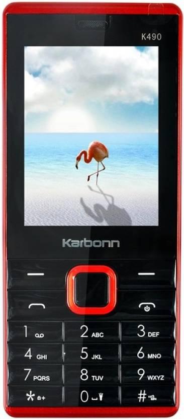 Karbonn K490 (Black, Red)