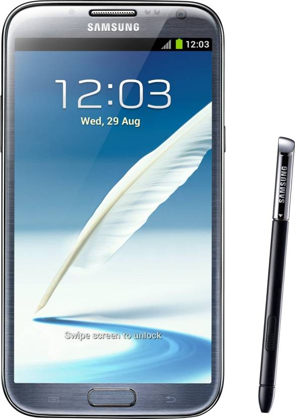 Samsung Galaxy Note 2 (Titanium Grey, 16 GB)