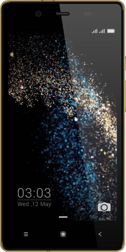 Videocon Octa Core Z55 Dash (Black & Gold, 8 GB)