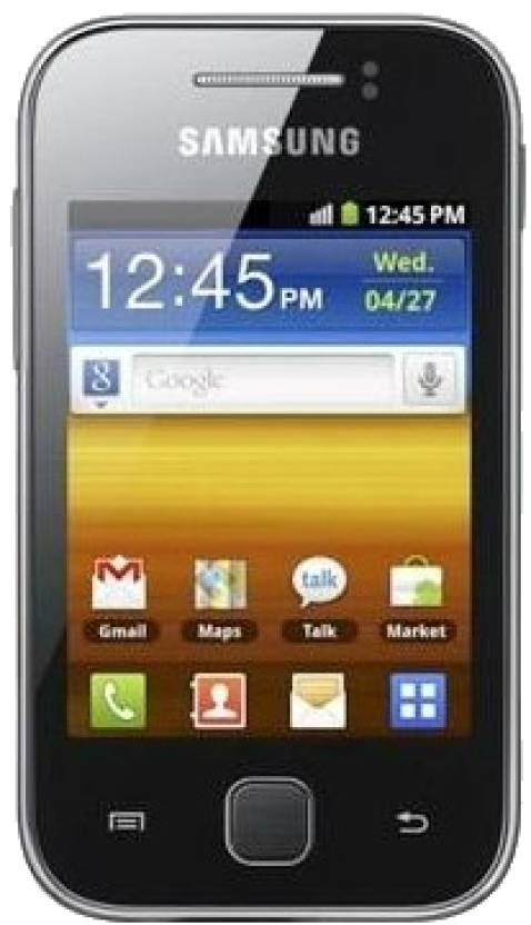 Samsung Galaxy Y (Metallic Gray, 180 MB)