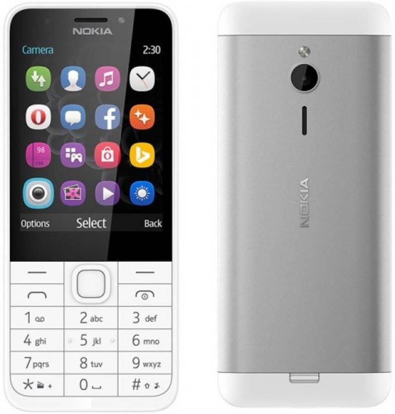 Nokia NOKIA 230 (WHITE)