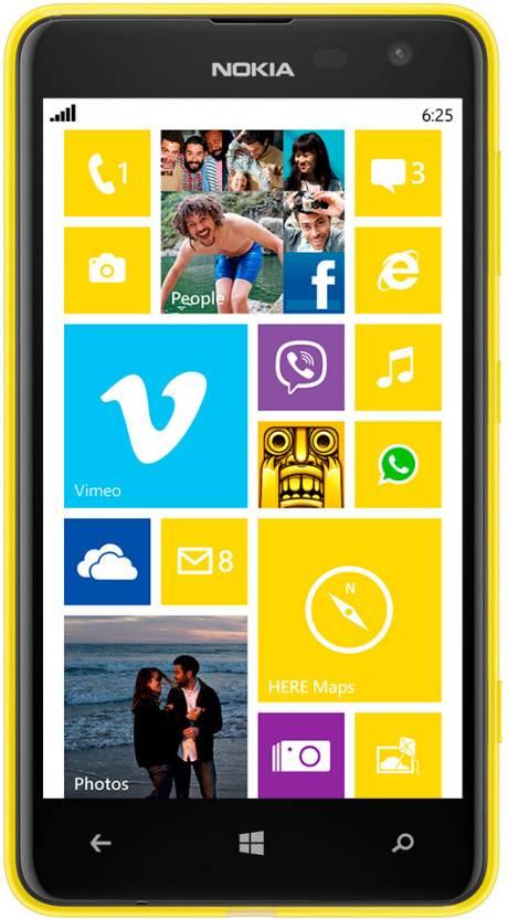 Nokia Lumia 625 (Yellow, 8 GB)