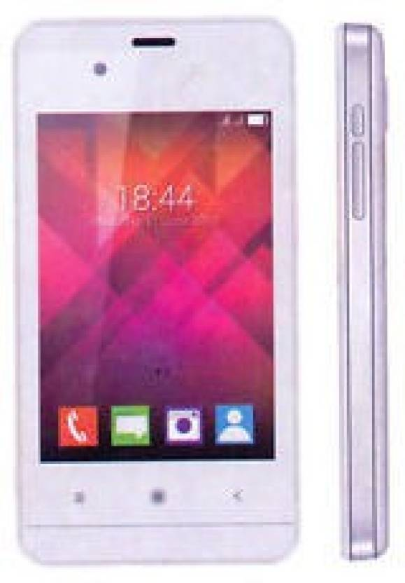 VIDEOCON ZEST FLASH (WHITE AND SILVER, 512 MB)