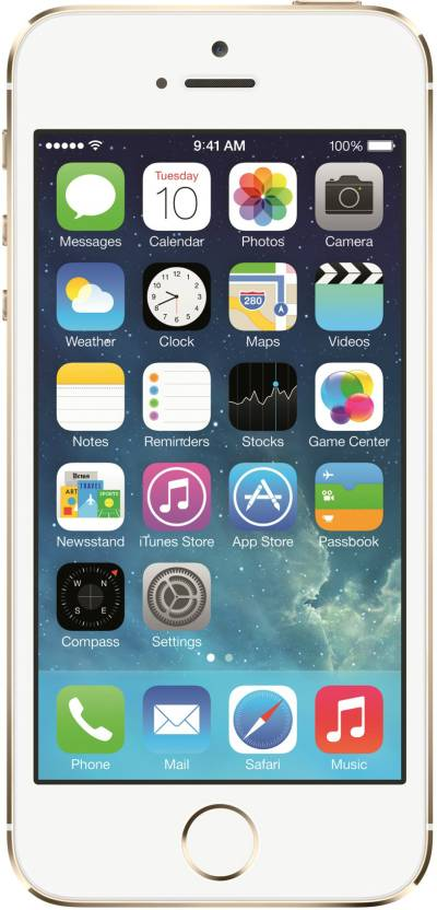 Apple iPhone 5s (Gold, 64 GB)