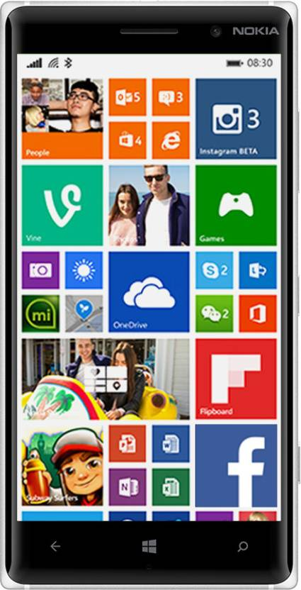 Nokia Lumia 830 (Black, 16 GB)