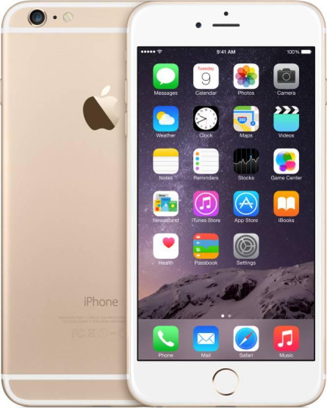 Apple iPhone 6 Plus (Gold, 64 GB)