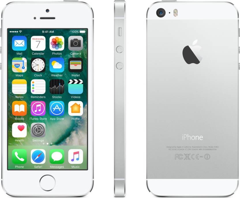 iPhone 5S Now Rs.16,999 + Upto Rs.13,500 off on Exchange By Flipkart | Apple iPhone 5s (Silver, 16 GB)  (1 GB RAM) @ Rs.16,999