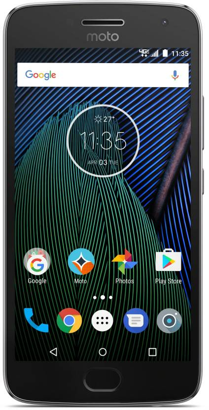 Moto G5 Plus (Lunar Grey, 16 GB)