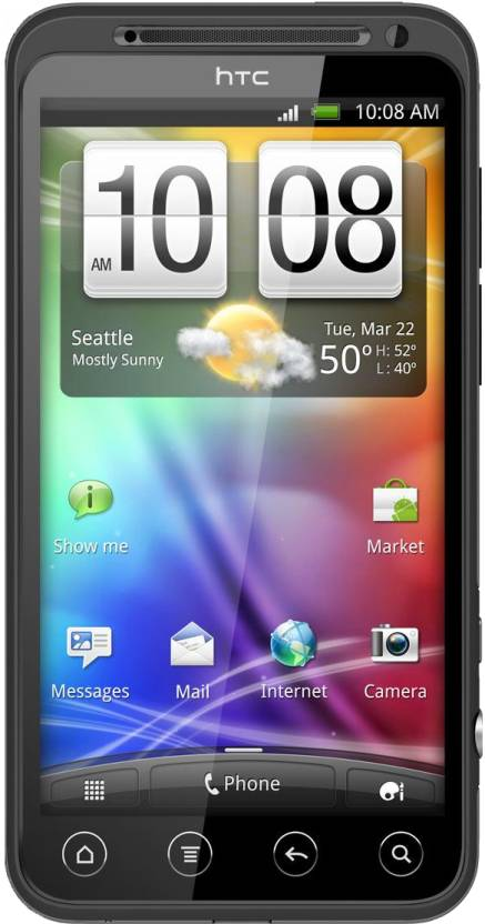 HTC evo 3D (Black, 1 GB)