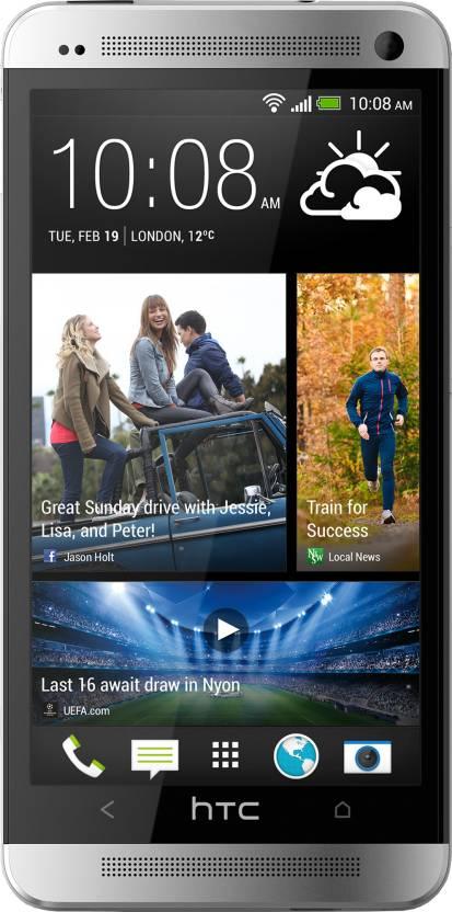 HTC One 801e (Silver, 32 GB)