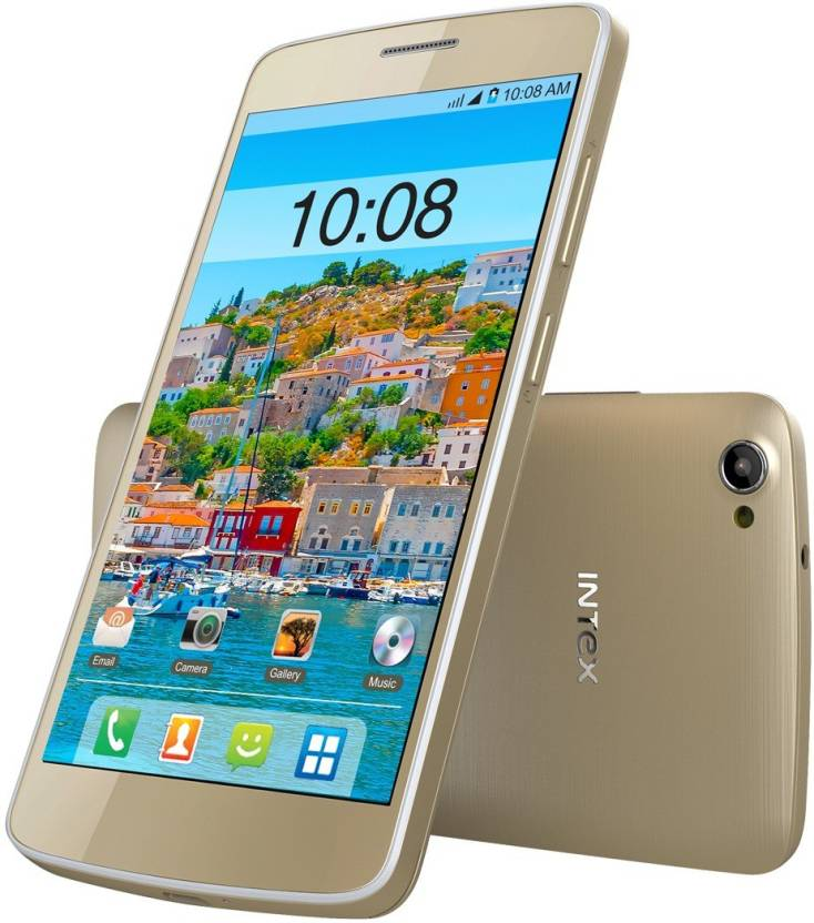 Intex Aqua Star II HD (Grey, 8 GB)