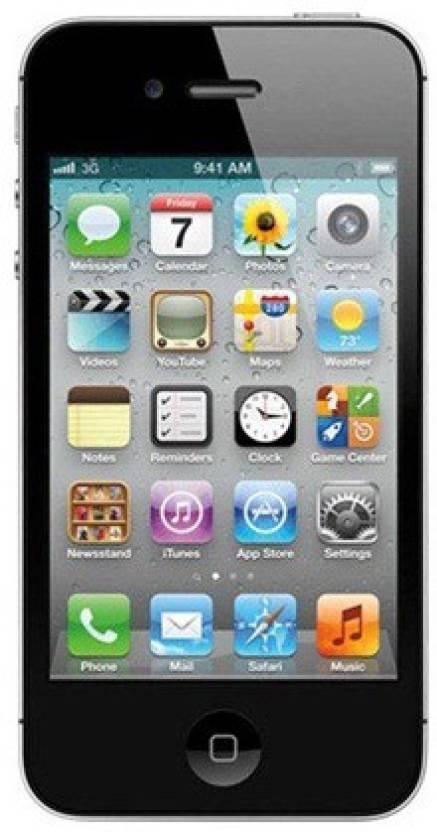 Apple iPhone 4s (Black, 64GB) (Black, 64 GB)