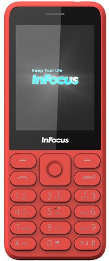 InFocus Dual Sim Phone (Red)