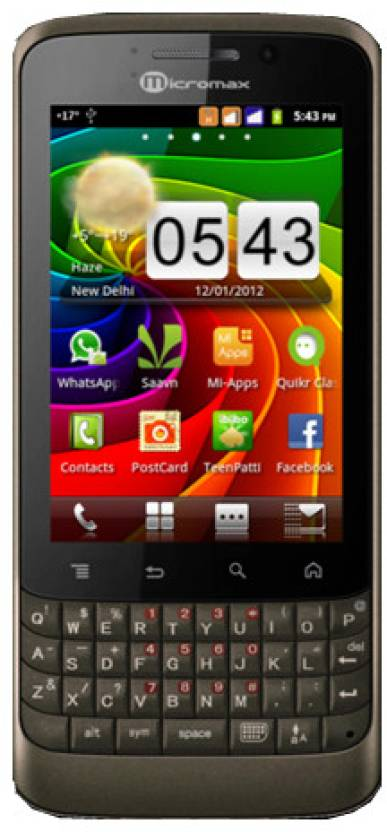 Micromax A78 (Coffee, 256 MB)