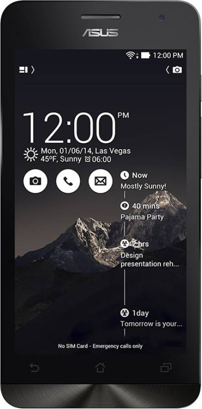 Asus Zenfone 5 (Black, 16 GB)