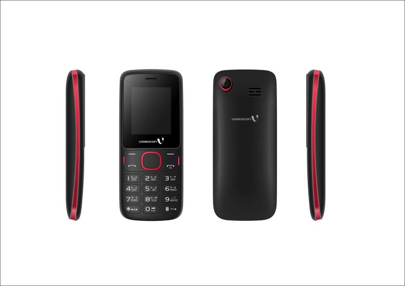 Videocon V1IA1 (Black & Red)